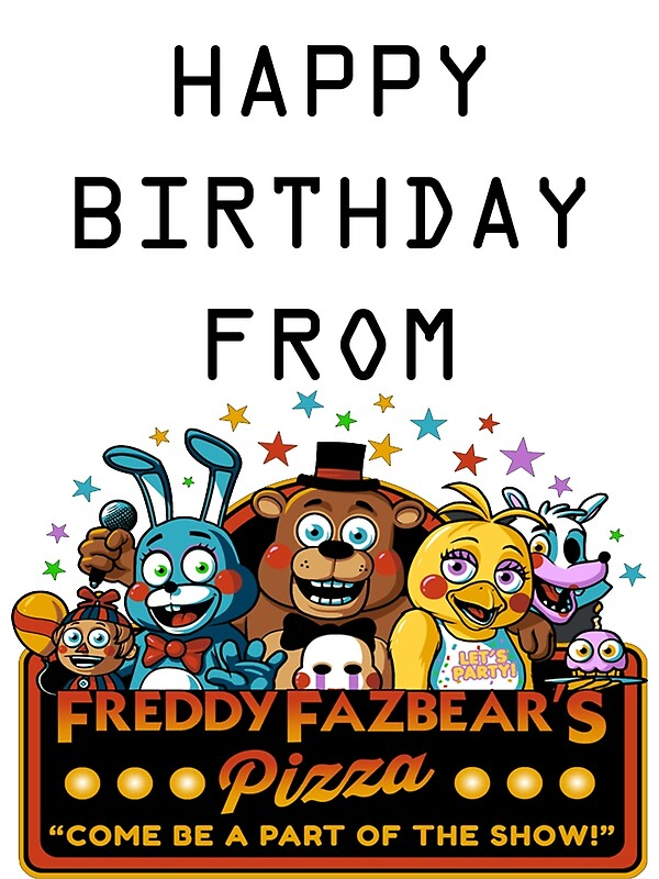 Fnaf Greeting Cards Redbubble