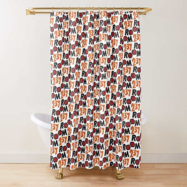 room 237 shower curtains redbubble