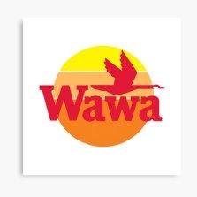 Wawa Canvas Prints | Redbubble