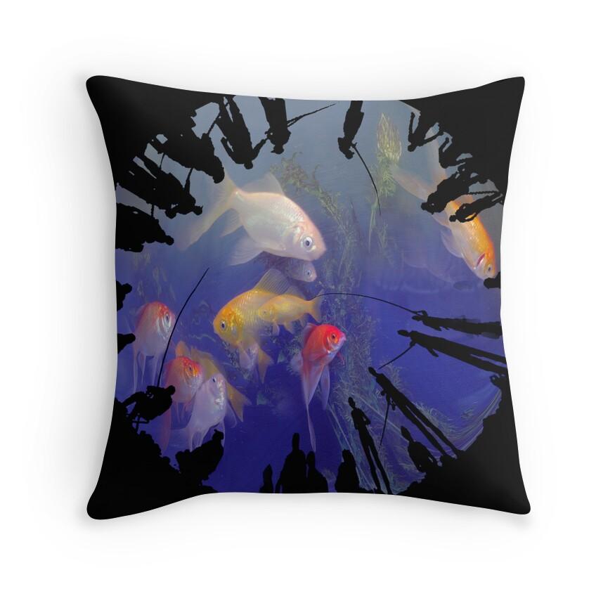 Dream Catchers Pillow Throw Pillows by Igor Zenin