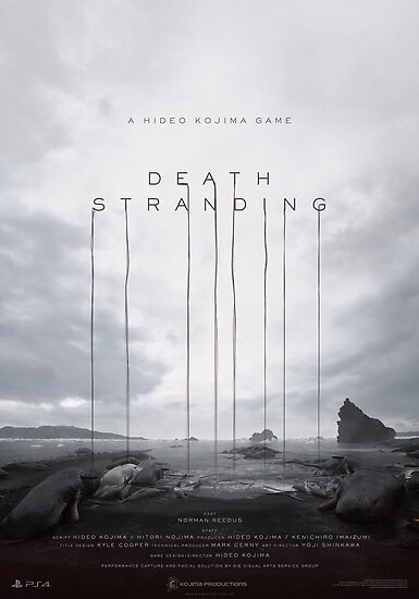 Death Stranding Poster Posters by dpfelix  Redbubble
