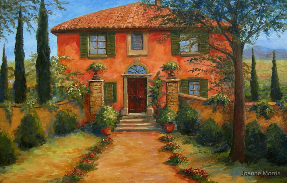 Bramasole from Under the Tuscan Sun by Joanne Morris