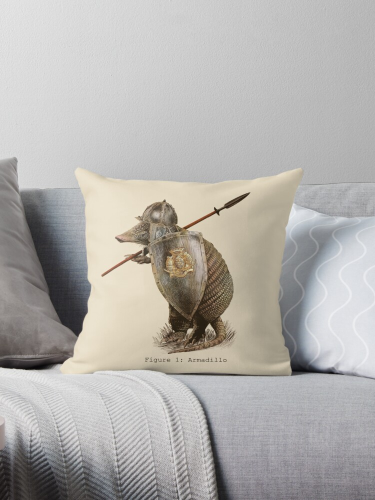 Armadillo Throw Pillows by Eric Fan  Redbubble
