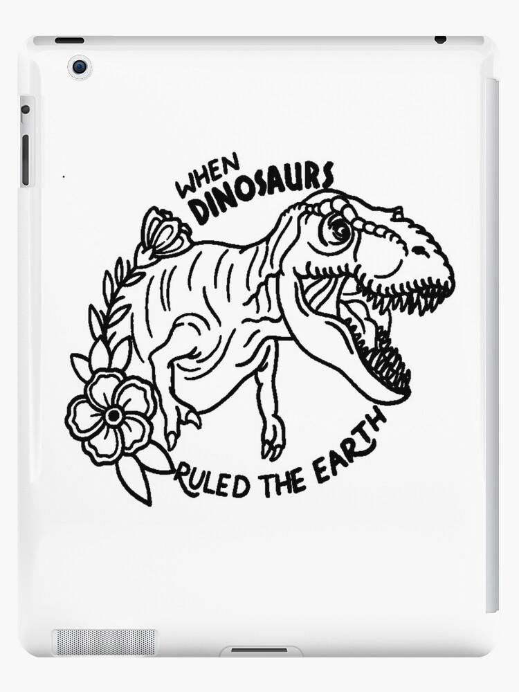 Jurassic Park T Rex Tattoo