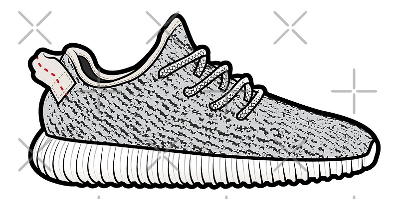 Yeezy Boost Coloring Pages