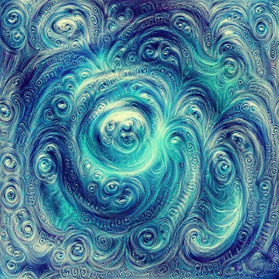 Cyclone #DeepDream
