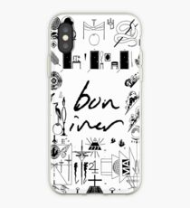 Bon Iver iPhone cases & covers for XS/XS Max, XR, X, 8/8