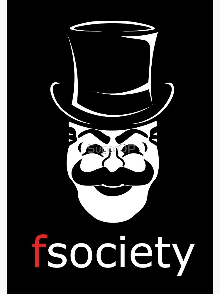 fsociety mr robot poster