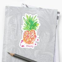 """pineapple lilly pulitzer"" Stickers by sarahvillella ..."