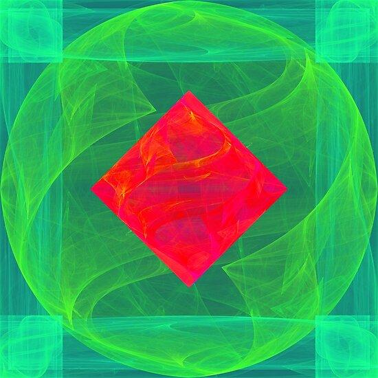 Antiquarian Pulsar infrared #fractal art