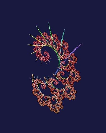 Dangerous #fractal art