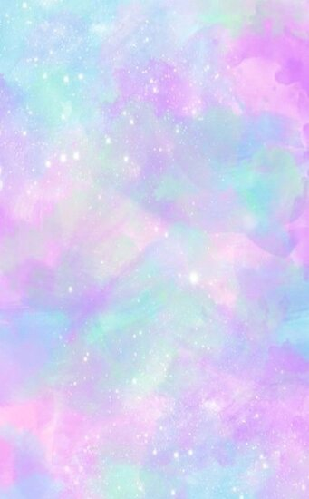 Cute Watercolor Laptop Wallpapers Quot Pastel Galaxy Quot Poster By Mbroadbridgee Redbubble