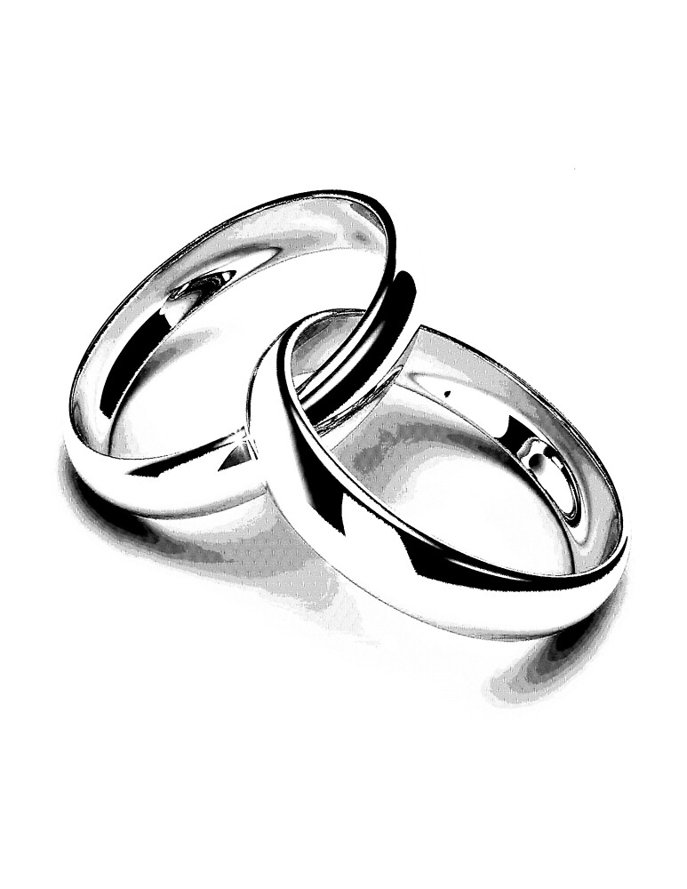 """""""wedding Bands Just Married Newlyweds New Wife New"""