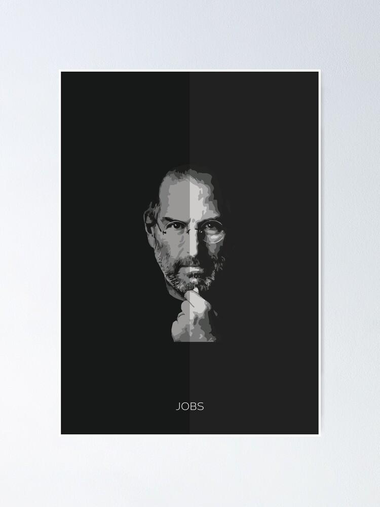 steve jobs poster von expressivemedia redbubble