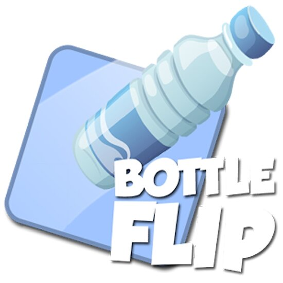 water bottle flip logo