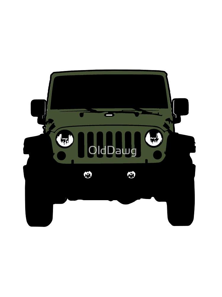 Forest Green Jeep : forest, green, Forest, Green