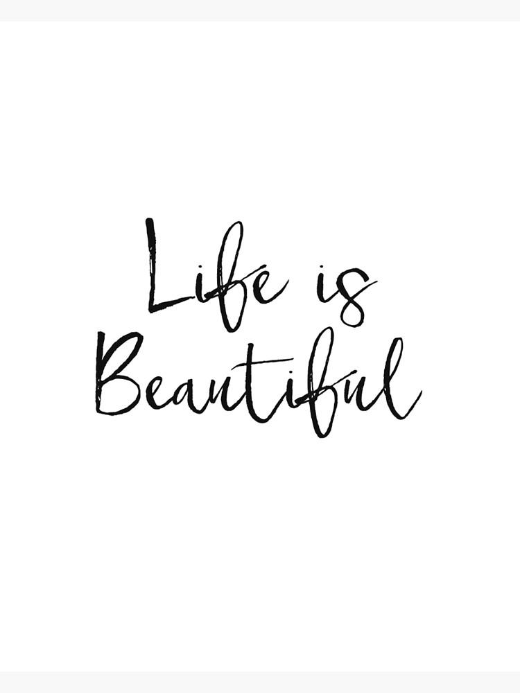 La Vie Est Belle Citation : belle, citation, Affiche, Scandinave,, French, Printable, Citation, Quote,, Belle,, Beautiful,, Inspirational, Quote