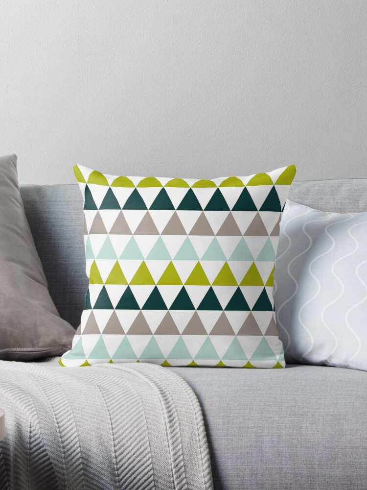 chartreuse throw pillow by madebyjenni redbubble