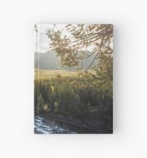 """banff Alberta - Banff Springs Hotel"" Hardcover Journals"