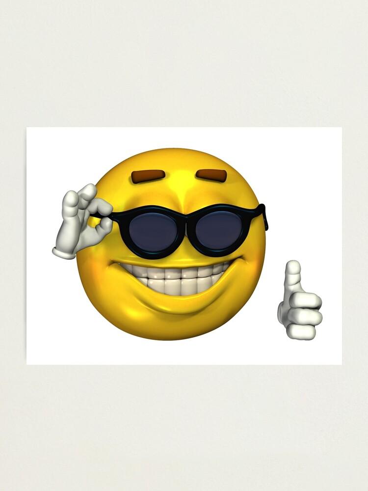 Thumbs Up Sunglasses Meme : thumbs, sunglasses, Ironic, Smiley, Sunglasses