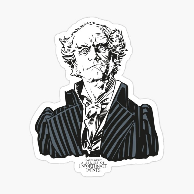 """A series of unfortunate events Count Olaf"""" Poster by SerenaFreak"""