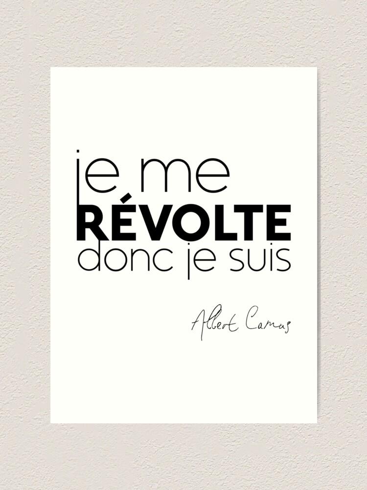 Je Me Révolte Donc Nous Sommes : révolte, sommes, Révolte,, Albert, Camus