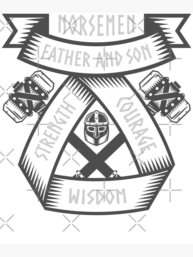 Father And Son Symbol : father, symbol, Father, Norsemen, Viking