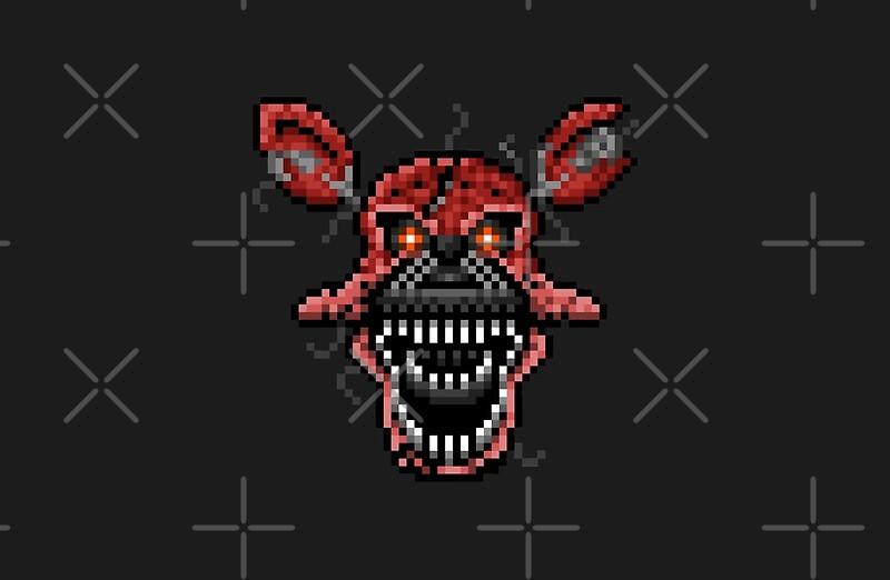 Nightmare Foxy Pixel Artdefault1