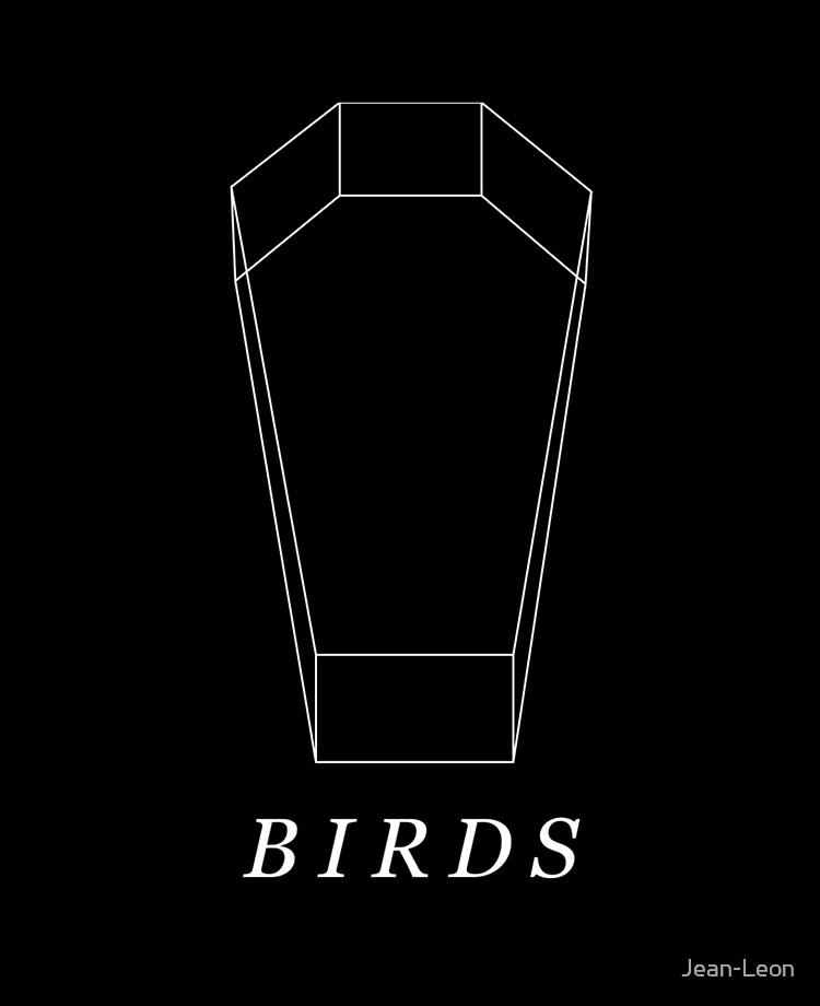 Death Grips Coffin : death, grips, coffin, Death, Grips, Birds, Coffin, (White)