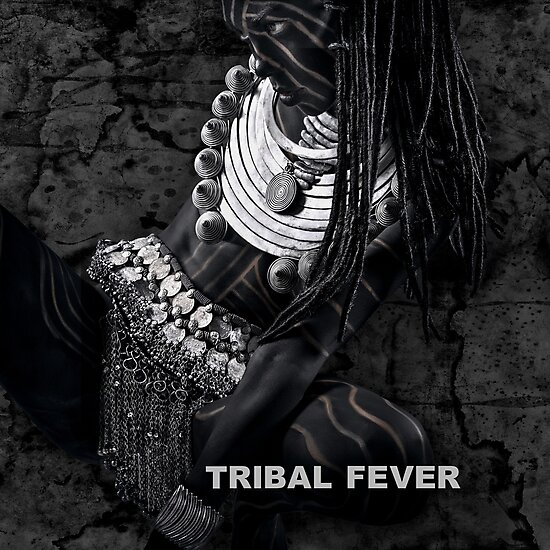 Product image link to buy 'Tribal Fever' Photographic Print by Glen Allison