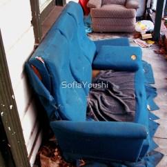 Red Leather Two Seater Sofa Natalia Set