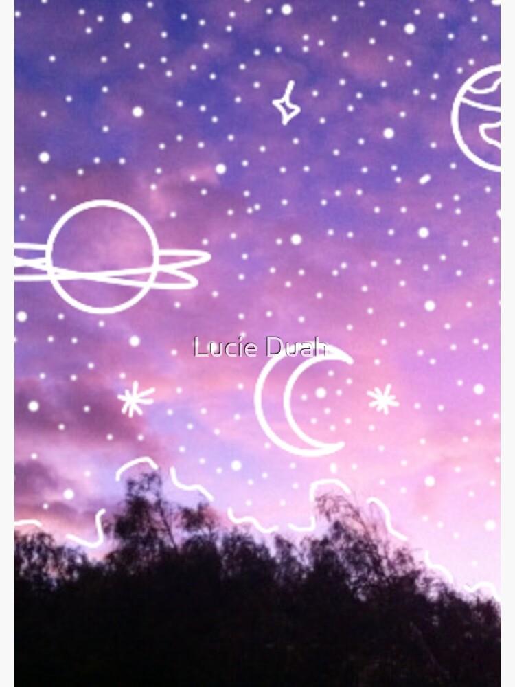 aesthetic tumblr sunset galaxy