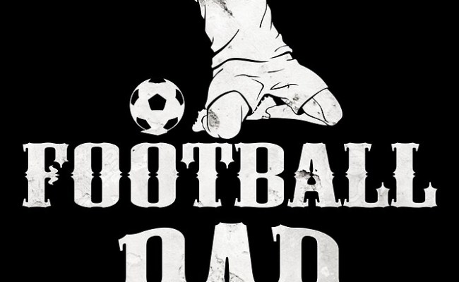 Football Dad T Shirt Fathers Day Gift 2 By Sondinh