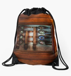 steampunk electrical the fuse panel drawstring bag [ 1435 x 1404 Pixel ]
