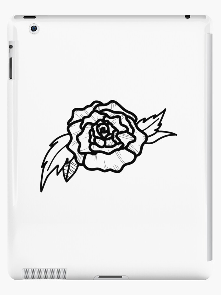 Rose Tattoo Design Sketch