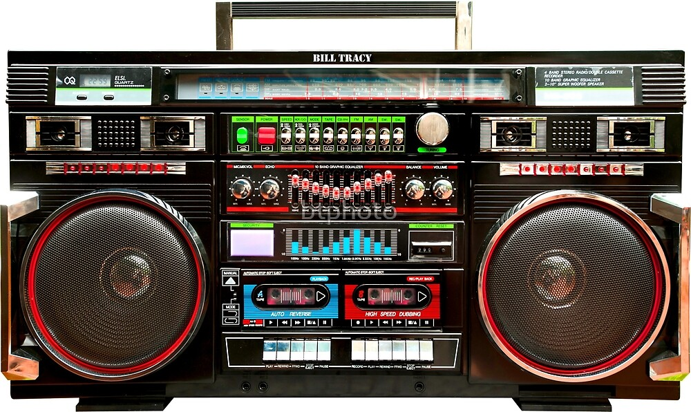 High Contrast Wallpaper For Iphone X Quot Huge Boombox Ghetto Blaster Quot By Btphoto Redbubble