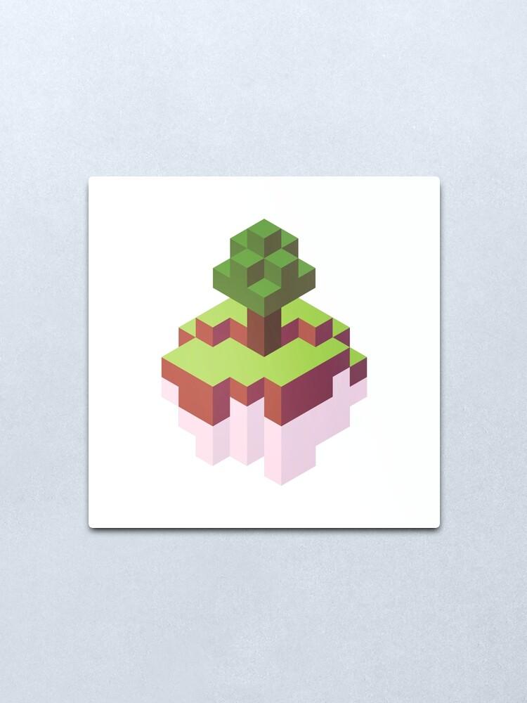 Minecraft Simple Wall Designs : minecraft, simple, designs, Minecraft, Simple, Floating, Island, Isometric