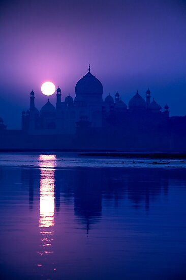 Product image link to buy 'Blue Taj Mirage' Photographic Print by Glen Allison
