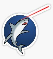 laser shark stickers redbubble
