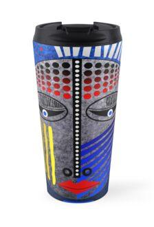 'Tribal Whimsy 12' Mug by Glen Allison