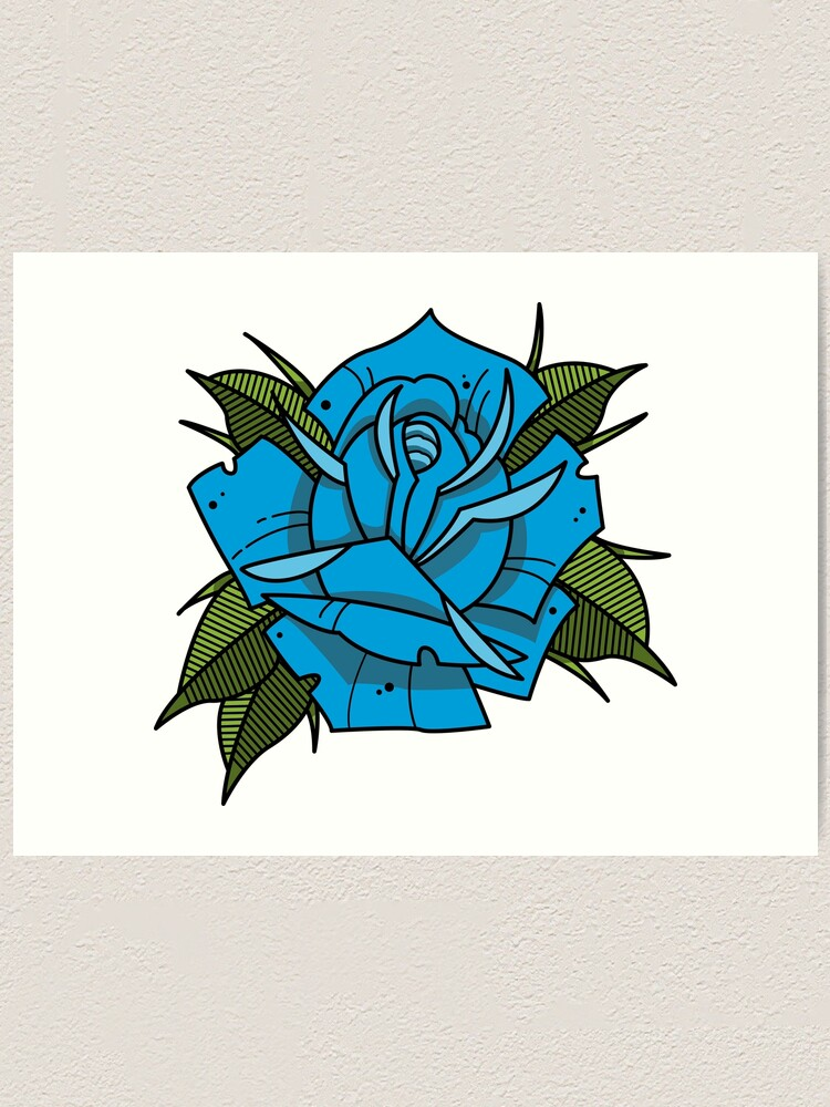 Neotraditional Rose Tattoo : neotraditional, tattoo, Traditional, Tattoo
