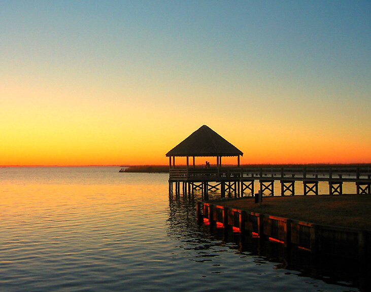 Cabana Sunset Whalehead Club Outer Banks North