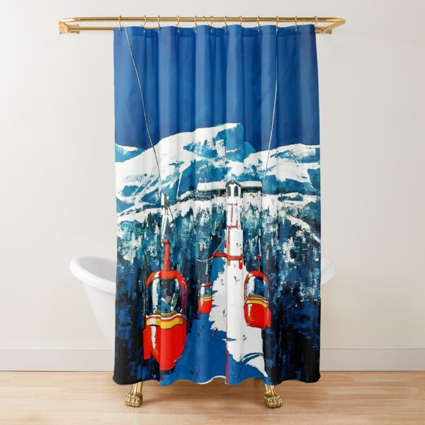 sport shower curtains redbubble