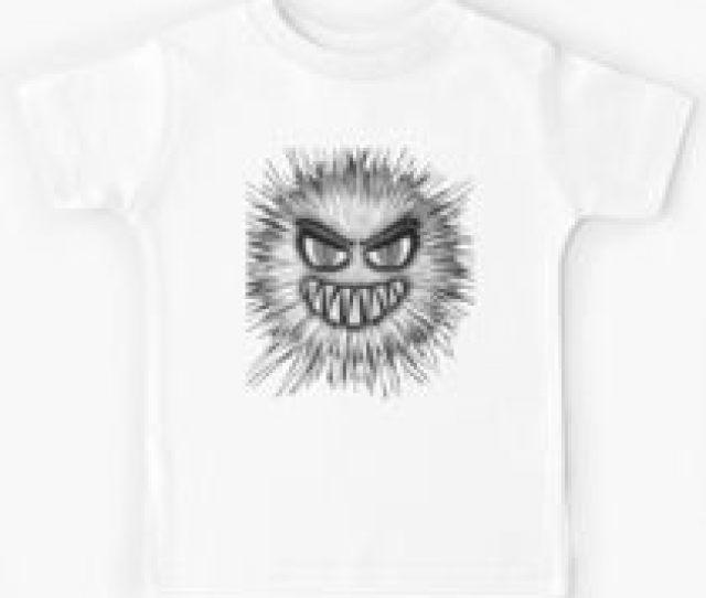 Halloween Scary Monster Kids Tee