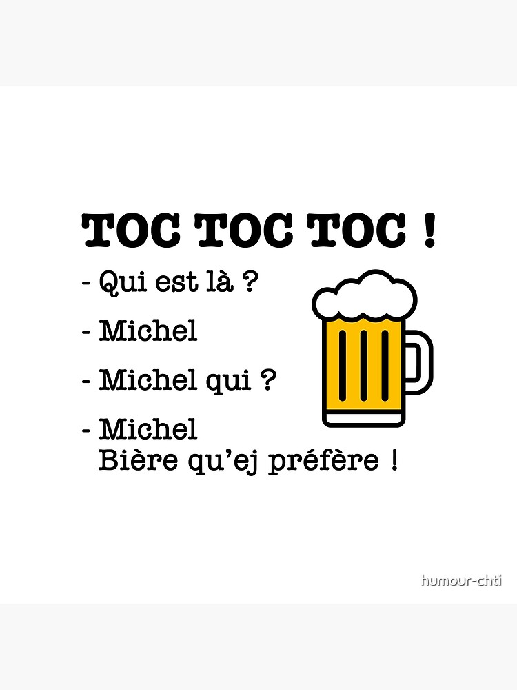 Toc Toc Qui Est La : Michel, Prefer!