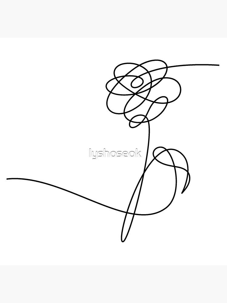 Love Yourself Her Flower : yourself, flower, YOURSELF, 'HER', FLOWER, BLACK