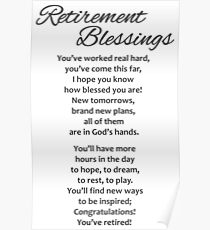 retirement schedule posters redbubble
