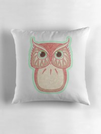 """""""Pixie Owl"""" Throw Pillows by nelly-belly 