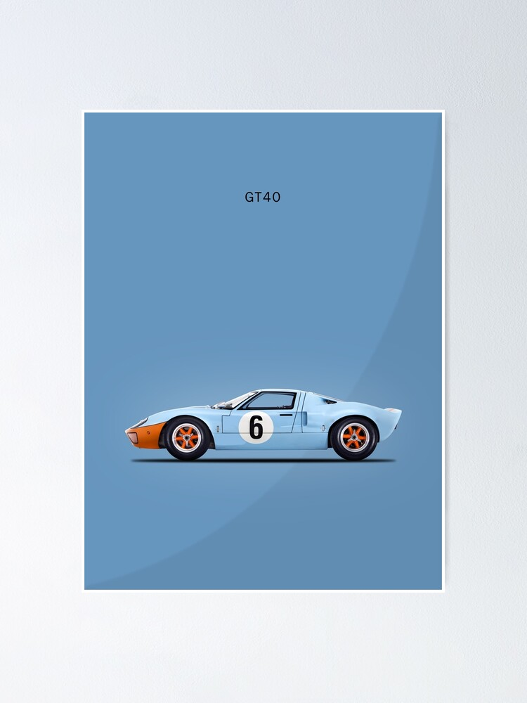 Ford Gt Poster : poster, GT40