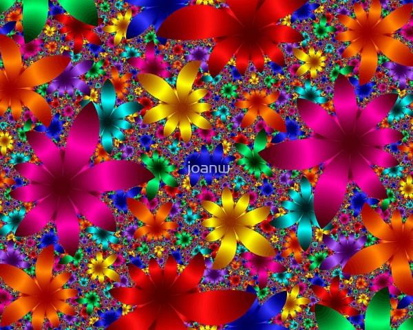 """flower Power"" Joanw Redbubble"